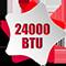 Công suất 24000BTU