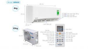 3 model điều hòa Panasonic 9000Btu bán chạy nhất đầu năm 2020
