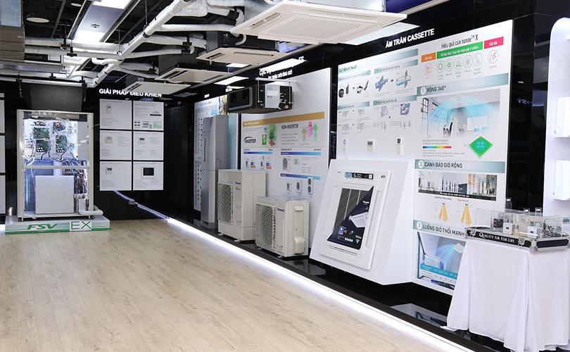 Khai trương trung tâm đào tạo điều hòa Panasonic tại Hà Nội