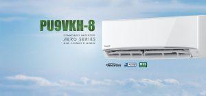 PU9VKH-8 điều hòa inverter aero series