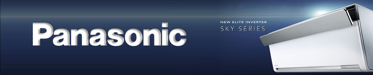 Banner điều hòa Panasonic